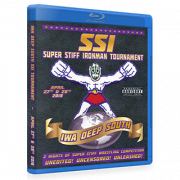 "IWA Deep South Blu-ray/DVD April 27 & 28, 2018 ""Super Stiff Ironman Tournament - Night 1 & 2"" - Kellyton, AL"