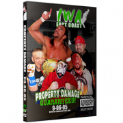 "IWA East Coast DVD September 6, 2005 ""Property Damage Guaranteed"" - Charleston, WV"
