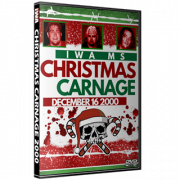 """IWA Mid-South DVD December 16, 2000 """"Christmas Carnage 2000"""" - Charlestown, IN"""