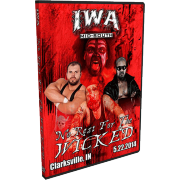 "IWA Mid-South DVD May 22, 2014 ""No Rest for the Wicked"" - Clarksville, IN"