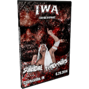 "IWA Mid-South DVD June 29, 2014 ""Suicidal Tendencies"" - Clarksville, IN"