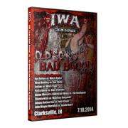 "IWA Mid-South DVD July 10 & 17, 2014 ""Old Scars, ... & An American Wolf ..."" - Clarksville, IN"