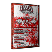 "IWA Mid-South DVD August 9 ""Kings of the Crimson Mask"" & August 10, 2014 ""600th Show"" - New Albany, IN"