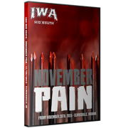 "IWA Mid-South DVD November 20, 2015 ""November Pain"" - Clarksville, IN"