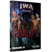 """IWA Mid-South DVD January 29, 2015 """"Fatality"""" - Clarksville, IN"""