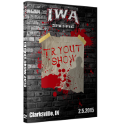 """IWA Mid-South DVD February 5, 2015 """"Tryout Show"""" - Clarksville, IN"""