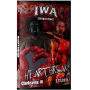"""IWA Mid-South DVD February 12, 2015 """"Heartbreak"""" - Clarksville, IN"""