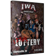 """IWA Mid-South DVD March 12, 2015 """"Lethal Lottery"""" - Clarksville, IN"""