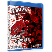 """IWA Mid-South Blu-ray/DVD March 15, 2015 """"Prince of the Death Matches"""" - Clarksville, IN"""