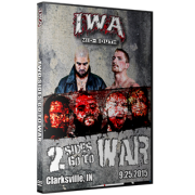"IWA Mid-South DVD September 25, 2015 ""Two Sides Go To War"" - Clarksville, IN"