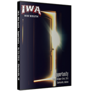 "IWA Mid-South Wrestling DVD October 23, 2015 ""Opportunity"" - Clarksville, IN"