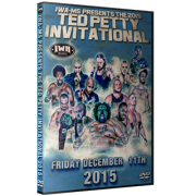 "IWA Mid-South Blu-ray/DVD December 11, 2015 ""Ted Petty Invitational 2015"" - Clarksville, IN"