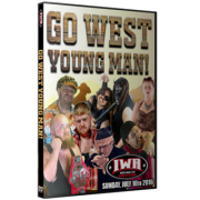 "IWA Mid-South DVD July 10, 2016 ""Go West, Young Man"" - Clarksville, IN"