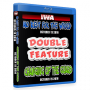 "IWA Mid-South Blu-ray/DVD October 13 & 15, 2016 ""No Rest For The Wicked & Changing Of The Guard"" - Memphis, IN"