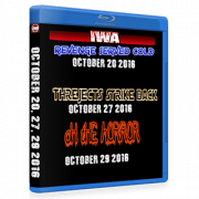 "IWA Mid-South Blu-ray/DVD October 20, 27 & 29, 2016 ""Revenge Served Cold, The Rejects Strike Back & Oh The Horror"" - Clarksville, IN"