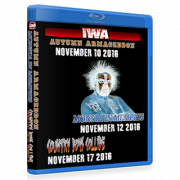 "IWA Mid-South Blu-ray/DVD November 10, 12 & 17, 2016 ""Autumn Armageddon, Monster In Memphis & Country  Boys Collide"" - Clarksville, IN"