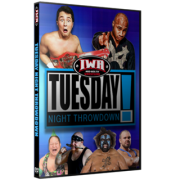 "IWA Mid-South DVD August 30, 2016 ""Tuesday Night Throwdown"" - Clarksville, IN"