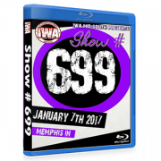 "IWA Mid-South Blu-ray/DVD January 7, 2017 ""#699"" - Memphis, IN"