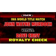 "IWA Mid-South January 19, 2017 ""Royalty Check"" - Jeffersonville, IN (Download)"
