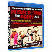 "IWA Mid-South Blu-ray/DVD January 21, 2017 ""Payback, Pain & Agony 2K17"" - Memphis, IN"