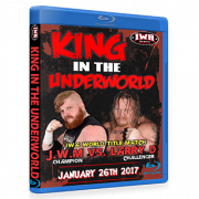 "IWA Mid-South Blu-ray/DVD January 26, 2017 ""King of the Underworld"" - Jeffersonville, IN"