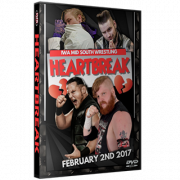 "IWA Mid-South DVD February 2, 2017 ""Heartbreak 2017"" - Jeffersonville, IN"