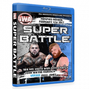 "IWA Mid-South Blu-ray/DVD February 4, 2017 ""Super Battle"" - Memphis, IN"