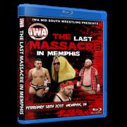 "IWA Mid-South Blu-ray/DVD February 18, 2017 ""Last Massacre in Memphis"" - Memphis, IN"