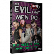 "IWA Mid-South DVD March 10, 2017 ""The Evil That Men Do"" - Memphis, IN"