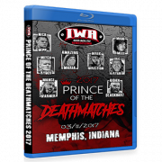"IWA Mid-South Blu-ray/DVD March 11, 2017 ""Prince Of The Death Matches"" - Memphis, IN"