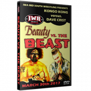 "IWA Mid-South DVD March 30, 2017 ""Beauty vs. The Beast"" - Jeffersonville, IN"