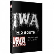 "IWA Mid-South DVD April 8, 2017 ""Retro Night"" - Memphis, IN"