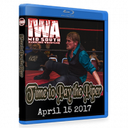 "IWA Mid-South Blu-ray/DVD April 15, 2017 ""Time to Pay the Piper"" - Memphis, IN"