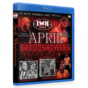 "IWA Mid-South Blu-ray/DVD April 29, 2017 ""April Bloodshowers"" - Memphis, IN"
