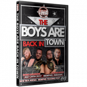 "IWA Mid-South DVD July 29, 2017 ""The Boys are Back in Town"" - Memphis, IN"