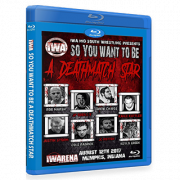 "IWA Mid-South Blu-ray/DVD August 12, 2017 ""So You Wanna Be a Deathmatch Star?"" - Memphis, IN"