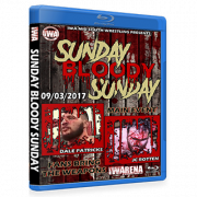 "IWA Mid-South Blu-ray/DVD September 3, 2017 ""Sunday Bloody Sunday"" - Memphis, IN"