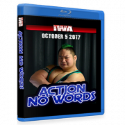 "IWA Mid-South Blu-ray/DVD October 5, 2017 ""Action No Words"" - Memphis, IN"