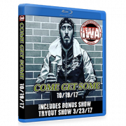 "IWA Mid-South Blu-ray/DVD March 23 & October 19, 2017 ""Tryout Show 2017, Come Get Some"" - Memphis, IN"