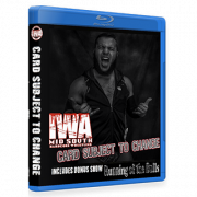 "IWA Mid-South Blu-ray/DVD September 29, 2016 & October 26, 2017 ""Running of the Bulls & Card Subject To Change"" - Memphis, IN"