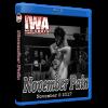 "IWA Mid-South Blu-ray/DVD November 2, 2017 ""November Pain"" - Memphis, IN"