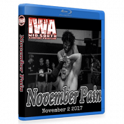 "IWA Mid-South Blu-ray/DVD November 2, 2017 ""November Pain"" - Memphis, IN"