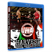 "IWA Mid-South Blu-ray/DVD November 16, 2017 ""Harvest The Violence"" - Memphis, IN"