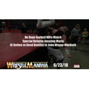 """IWA Mid-South June 23, 2018 """"Wrestlemaniwa"""" - Memphis, IN (Download)"""