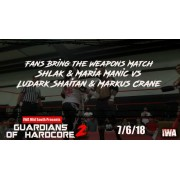 "IWA Mid-South July 6, 2018 ""Guardians Of Hardcore 2"" - Memphis, IN (Download)"