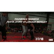 "IWA Mid-South July 7, 2018 ""So You Wanna Be a Death Match Star"" - Memphis, IN (Download)"