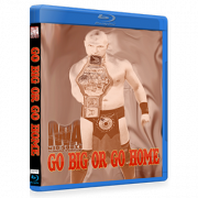 "IWA Mid-South Blu-ray/DVD January 25, 2018 ""Go Big Or Go Home"" - Memphis, IN"