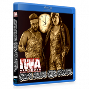 "IWA Mid-South Blu-ray/DVD February 23, 2018 ""Turn Back The Clock"" - Memphis, IN"