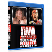 "IWA Mid-South Blu-ray/DVD March 13, 2018 ""Tuesday Night Fights"" - Memphis, IN"