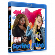 "IWA Mid-South Blu-ray/DVD April 7, 2018 ""Spring Fling"" - Memphis, IN"